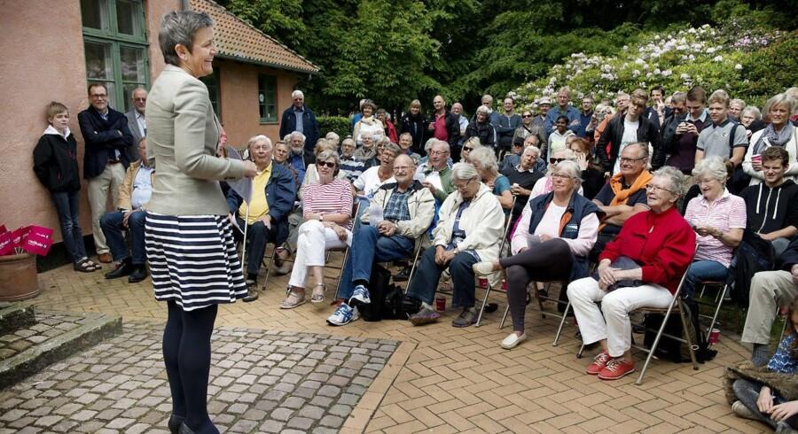 Margrethe Vestager holder grundlovstale på præstegården i Birkerød
