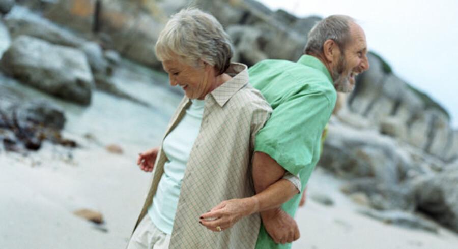 Den enkelte aftale om livsforsikring og pensioner er afgørende for, hvor meget der bliver tilbage til den længstlevende.