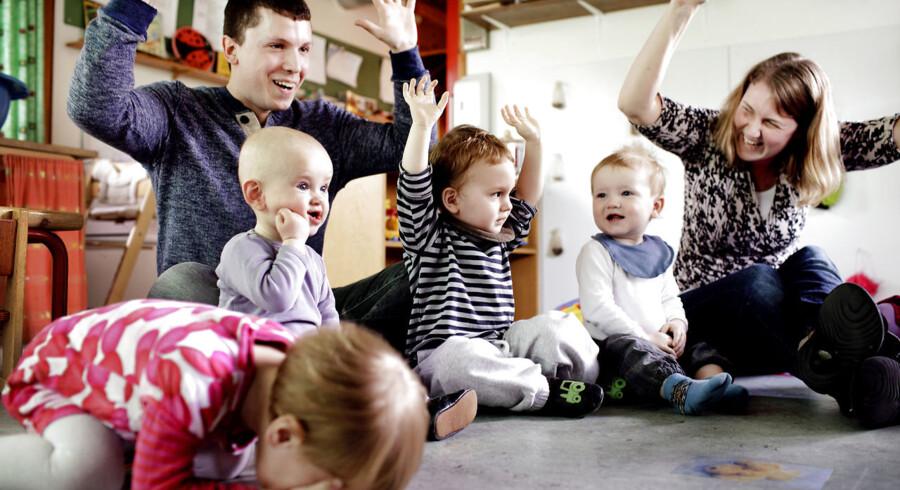 Dden kombinerede børnehave og vuggestue, Møllehuset i Søborg, bliver af eksperter udpeget som et pragteksempel på, hvordan en daginstitution skal drives.