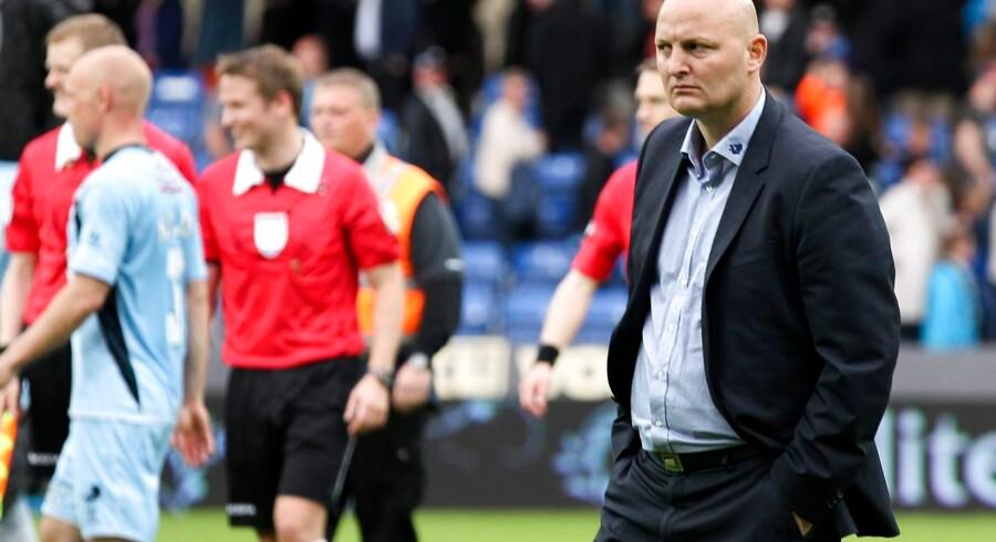 SuperLiga Fodbold. Randers FC - FC Vestsjælland. Her ses Sportschef Peter Christiansen