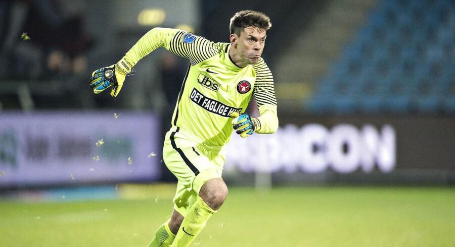 FC Midtjyllands målmand Jesper Hansen.