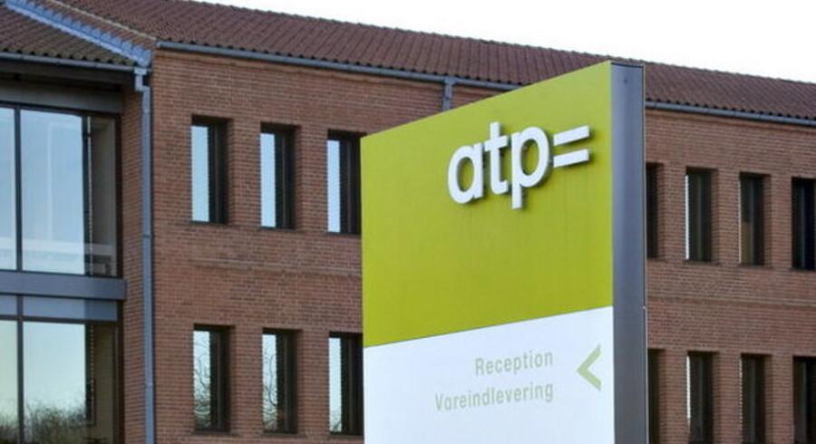 ATP kalder et fald i den forventede årlige pensionsudbetaling på 173 kroner for en stigning på to procent.