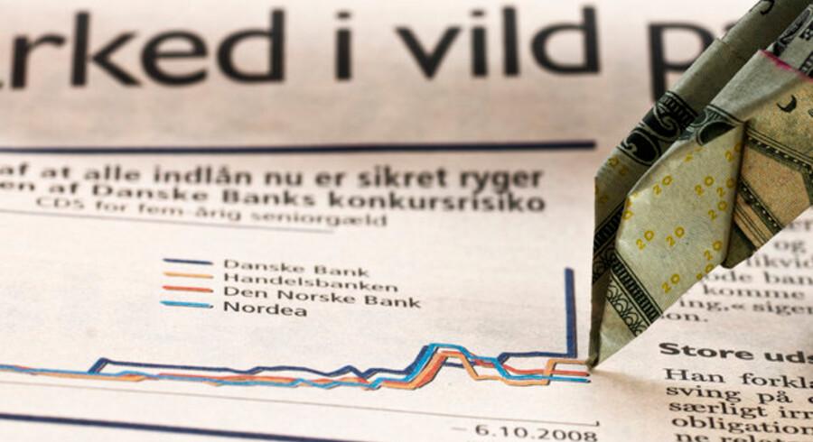 Finanskrisen og aktiernes nedtur har gnavet store formuer ud af pensionsopsparinger med markedsrente.