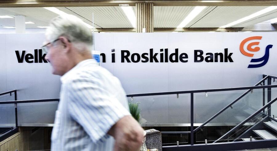 Private aktionærer i Roskilde Bank får dækket 60 procent af tabet, hvis de har købt aktierne i bestemte perioder og under bestemte forudsætninger.