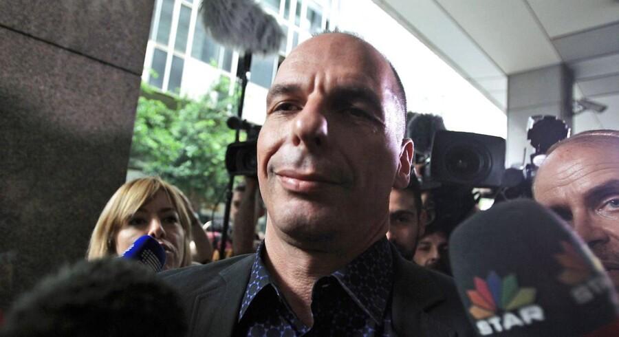 Grækenlands finansminister, Yanis Varoufakis, vil forlade sin post, hvis grækerne søndag stemmer ja til reformforslag fra de internationale långivere. ARKIVFOTO.