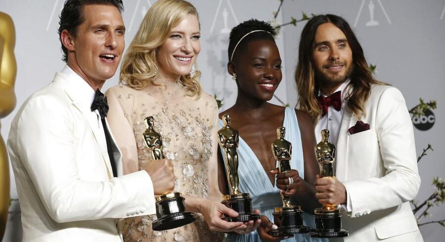 Søndag nat, dansk tid, løb den 86. udgave af Oscar-uddelingen af stablen i Dolby Theatre i Hollywood. Her er alle vinderne i billeder.