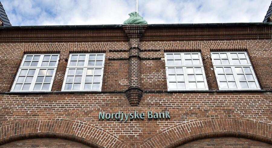 ARKIVFOTO. Nordjyske Bank er klar til at sende gave til aktionærerne.