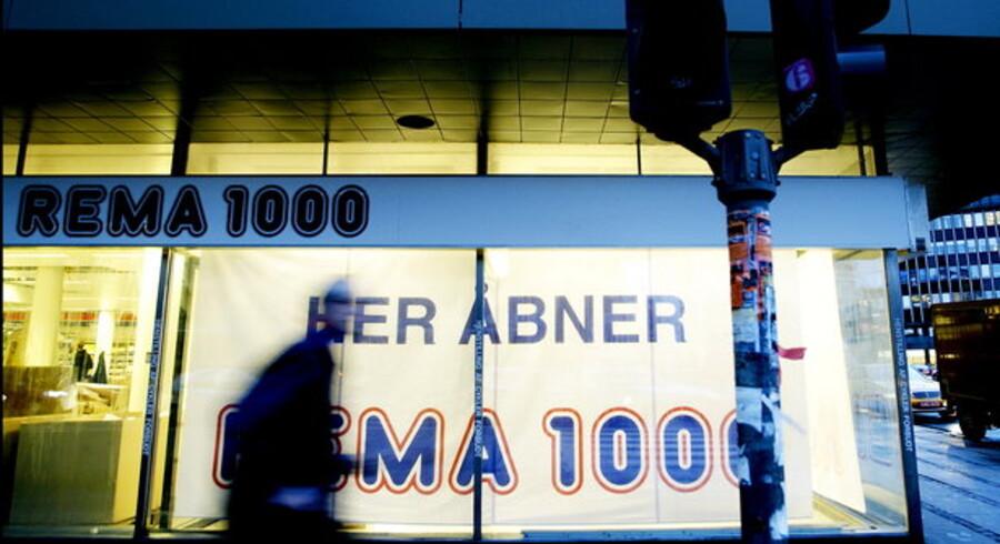 Rema 1000 åbner langt færre butikker end ventet.