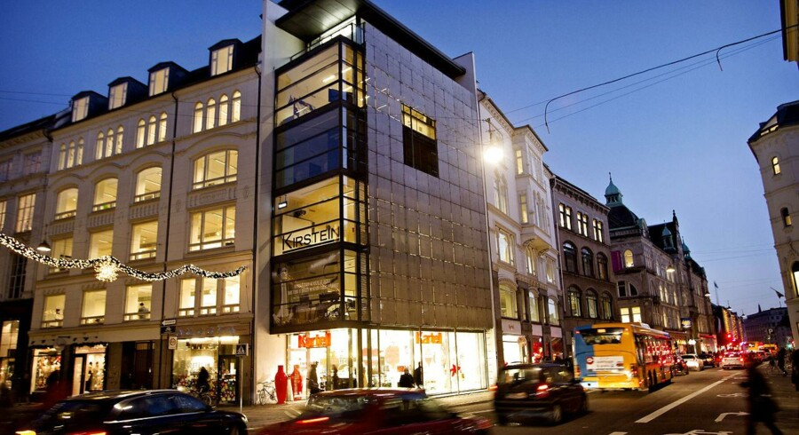 Denne ejendom i Kristen bernikowsgade 6 i København er en af de i alt 13 ejendomme i selskabet Kalvebod III, som Nykredit har tabt mange penge på