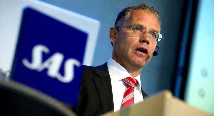 SAS-topchefen Rickard Gustafson er klar med den plan, der skal sikre SAS' drift fremover.