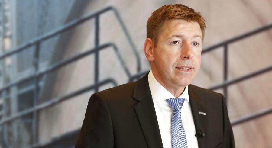 Thomas Schulz, topchef for FLSmidth.