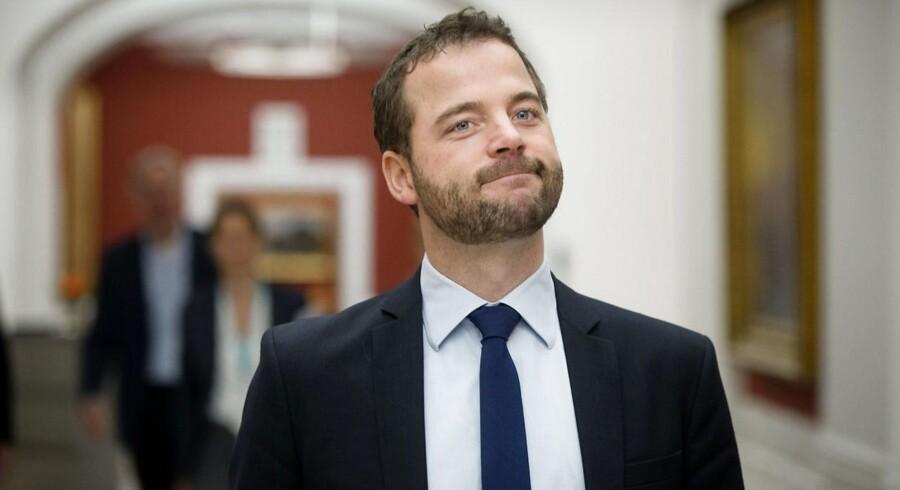Økonomi- og indenrigsminister Morten Østergaard.