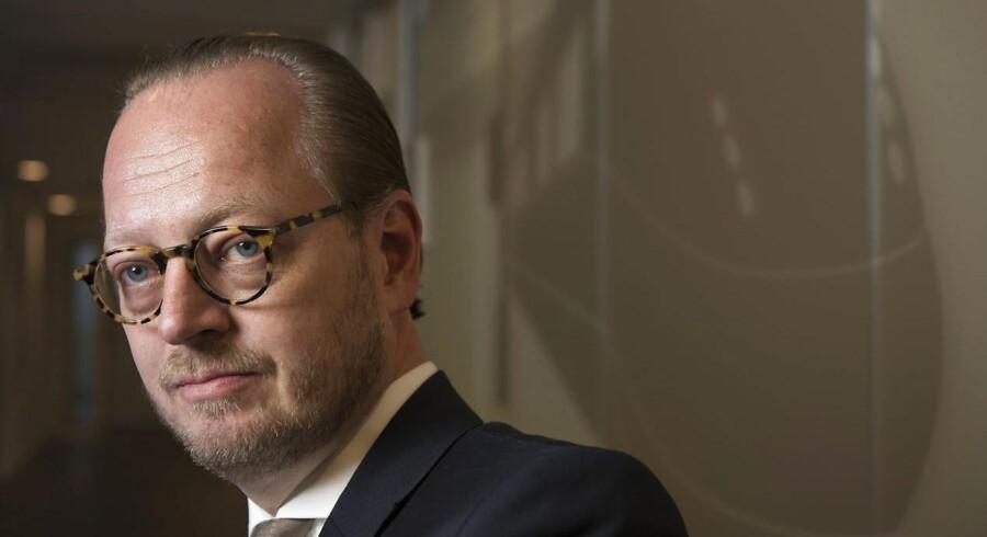 Adm. direktør Jesper Lok fra DSB kan sikre sig en ekstra årsløn på fuldført spareplan.