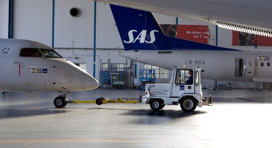 SAS står for 41 procent af al flytrafikken i Københavns Lufthavn.