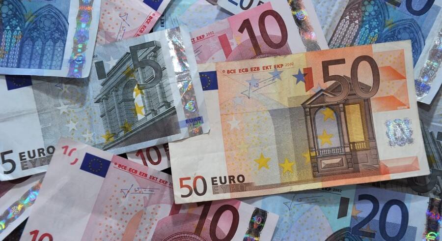 Nationalbankdirektør Lars Rohde finder det realistisk, at Danmark vil indgå i eurosamarbejdet om ti år. Foto: Philippe Huguen