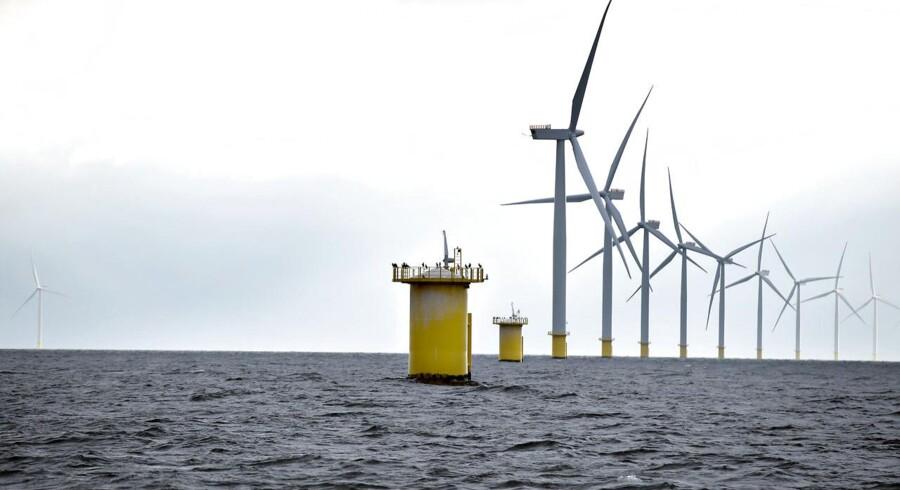 Dong Energy investerer mere end 16 mia. kr,. i en tysk havvindmøllepark.
