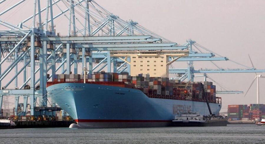 Maersk Line er verdens største containerrederi - men det har svært ved at tjene penge.