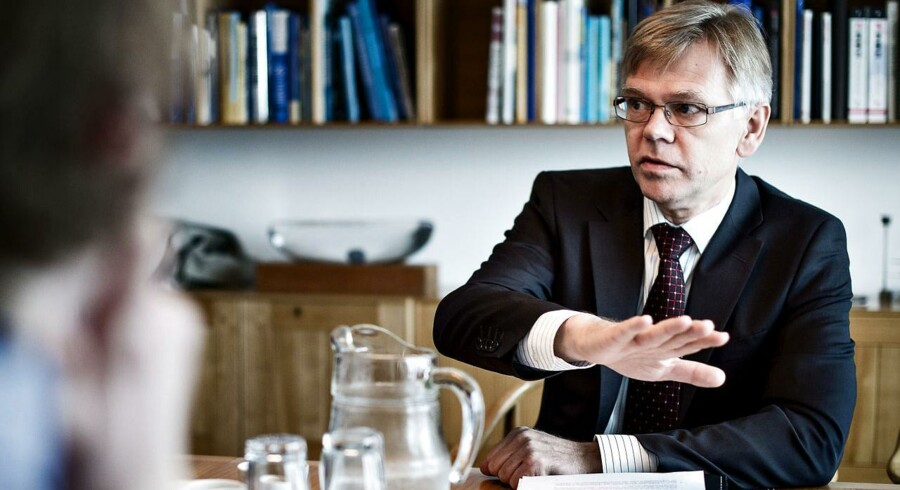 Adm. Direktør i Dansk Industri, Karsten Dybvad, er ikke ligeså optimistisk omkring Danmarks konkurrenceevne som vismændene i den nye rapport