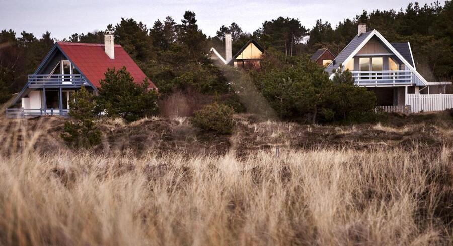 ARKIVFOTO. Sommerhusene ved Gudmindrup Lyng ved Sejerø Bugt.