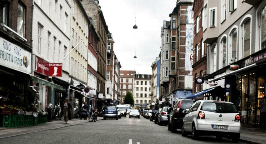 Værnedamsvej på Frederiksberg. - Arkivfoto