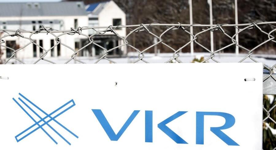 VKR fik dårligere resultater i 2011 end året forinden og spår et 2012 med store udfordringer.