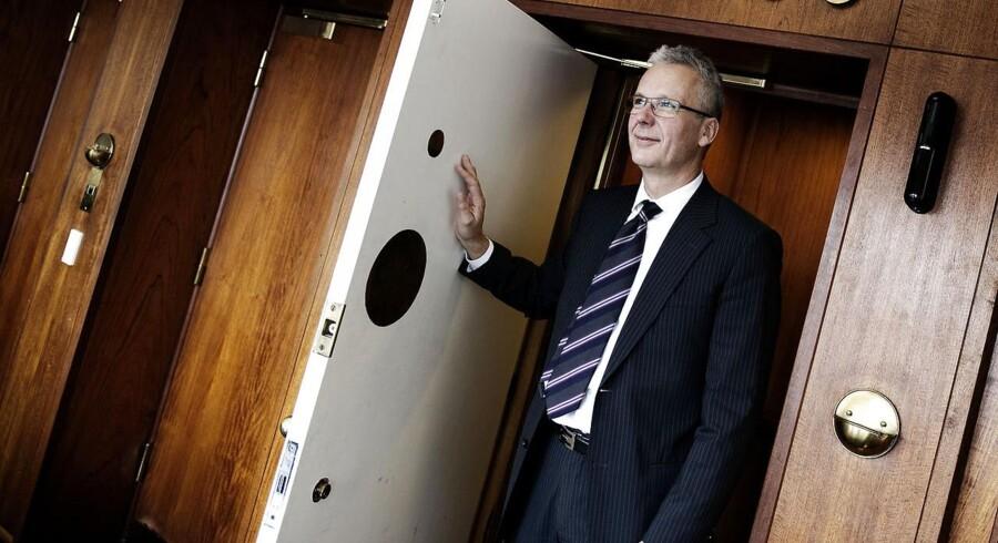 »At være direktør i Finanstilsynet får man sjældent tak for. Det gjorde min forgænger ikke, og det gør min efterfølger heller ikke,« siger Henrik Bjerre-Nielsen, som nu er chef for statens bankskraldespand Finansiel Stabilitet.