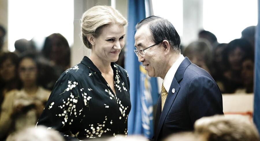 Ban Ki-Moon gæstede endnu engang FN-Byen i København og havde kun rosende ord til indvielsen.