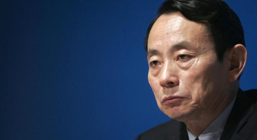 ARKIVFOTO. Jiang Jiemin.