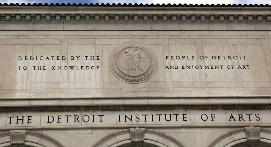 Kunstmuseet Detroit Institute of Arts er blandt de aktiver, Detroits embedsmænd nu vil begynde at vurdere værdien af.