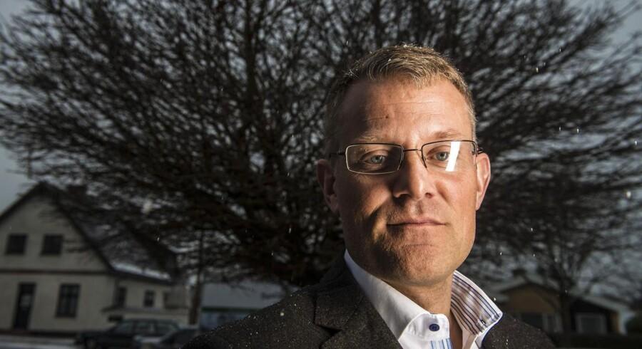 Administrerende direktør koncernchef i Huscompagniet Steffen Baungaard kan glæde sig over rekordresultat for 2012.