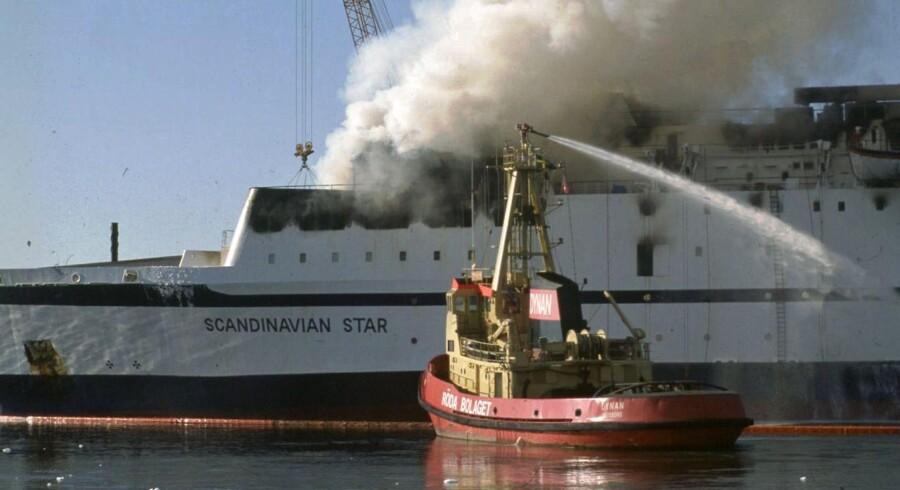Det brændende Scandinavian Star