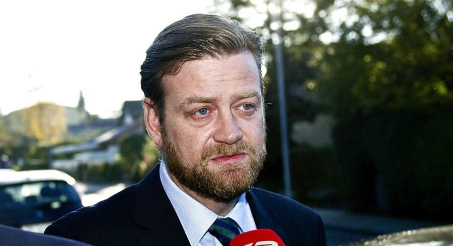 Peter Arnfeldt, rådgiver for Troels Lund Poulsen under Helle Thornings skattesag, skal genafhøres i morgen. Foto: Torkil Adsersen