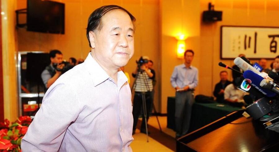 Nobelprisvinder Mo Yan overrasker med støtte til fængslet systemkritiker.