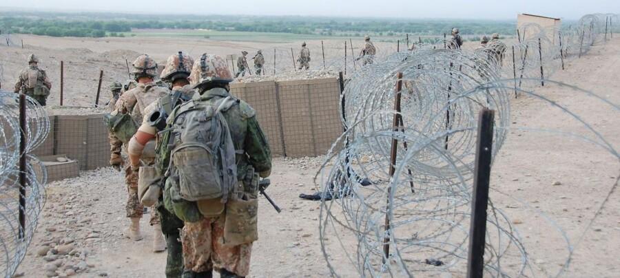 ARKIVFOTO 2010 af danske soldater i Afghanistan.
