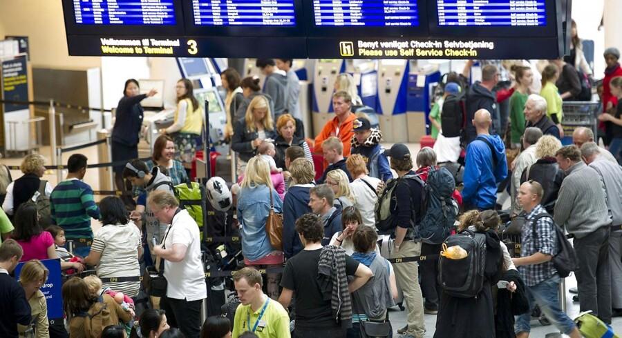 Københavns Lufthavne nyder godt af en historisk god sommer målt på passagerantal.