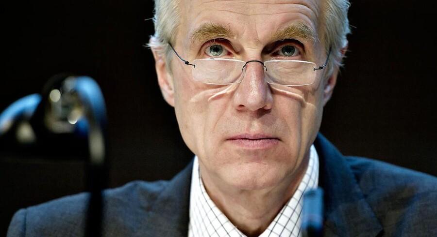 Det var under daværende topchef Peter Straarup, at Danske Bank indgik aftale med staten om lån under Bankpakke 2.