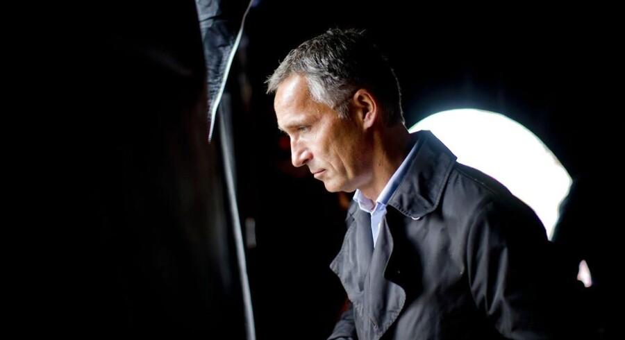 Jens Stoltenberg står til at tabe valget i Norge.