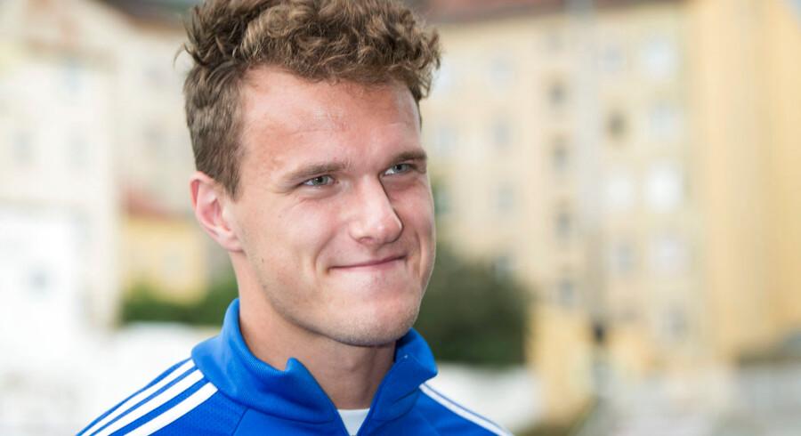 Alexander Scholz skal i aktion i weekenden for sin klub Standard Liège.