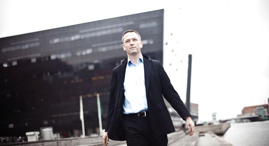 """""""Det er overvejende en stigning i jobannoncer fra det offentlige, der trækker"""", oplyser Steen Bocian, Cheføkonom i Danske Bank."""