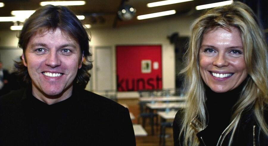 Arkivfoto. Jon Asgeir Johannesson langer ud efter de islandske myndigheder i avisen Frettabladid, som er ejet af hustruen Ingebjörg Palmadottir.