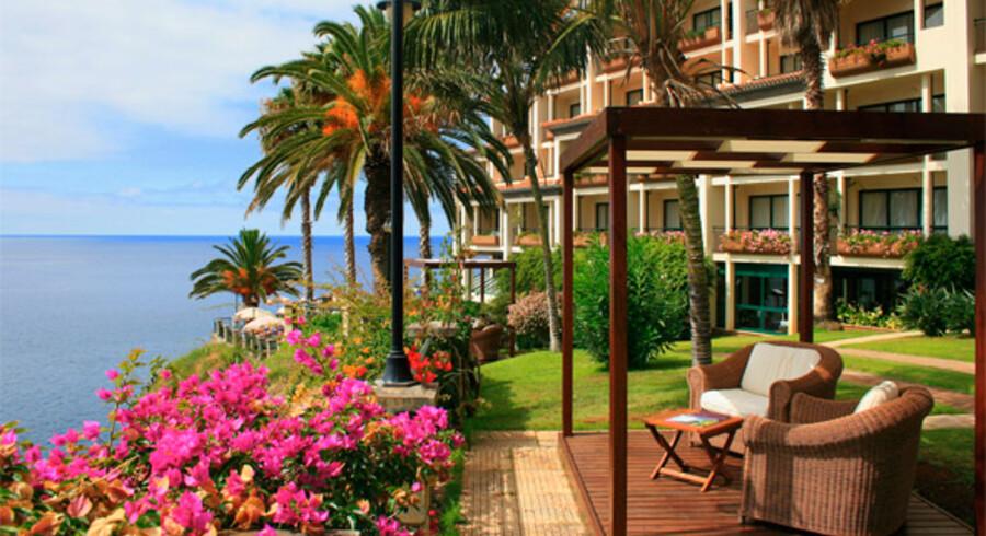 """""""Hotel Cliff Bay"""" på Madeira er en suveræn topper på Spies-gæsternes karakterliste over bureauets ialt 760 hoteller verden over."""