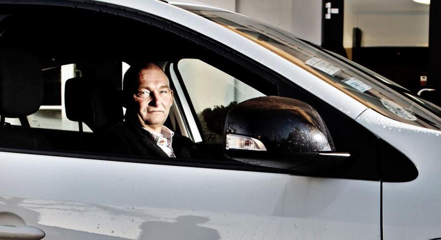 Johnny Hansen - direktør Better Place - forventer et salg på omkring 30.000 elbiler med udskifteligt batteri inden for tre år.