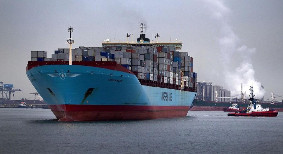 A.P. Møller - Mærsk kunne i dag levere selskabets første regnskab, efter Mærsk Mc-Kinney Møller gik bort.