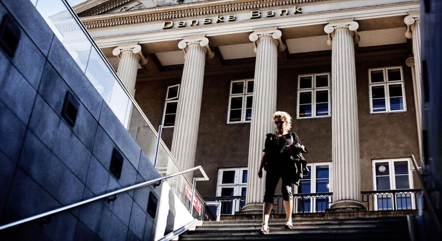 Danske Bank støttede den aggressive nedskrivningspolitik, som under finanskrisen efterlod banken svagt polstret.
