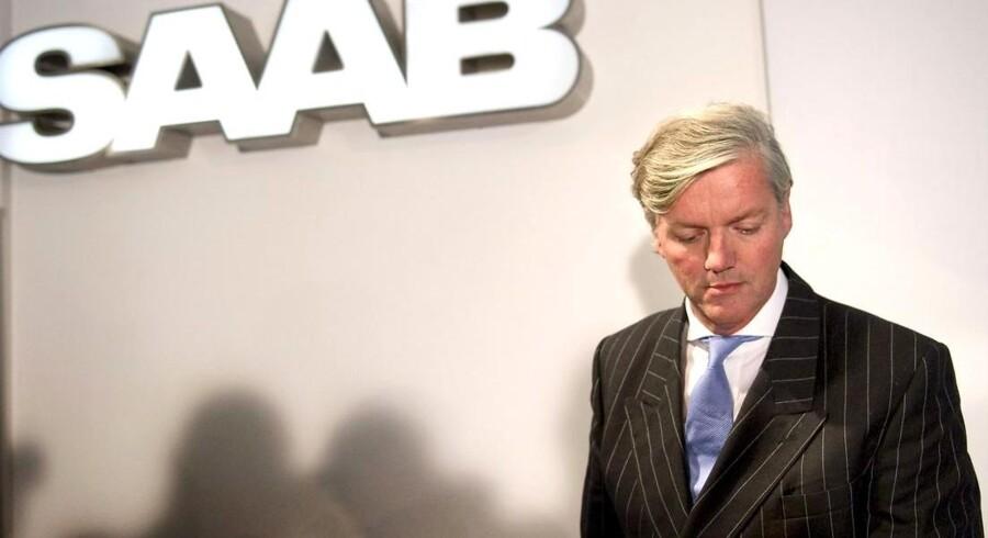 Victor Muller, topchefen for Swedish Automobile, ser ud til at ville opgive at redde SAAB.
