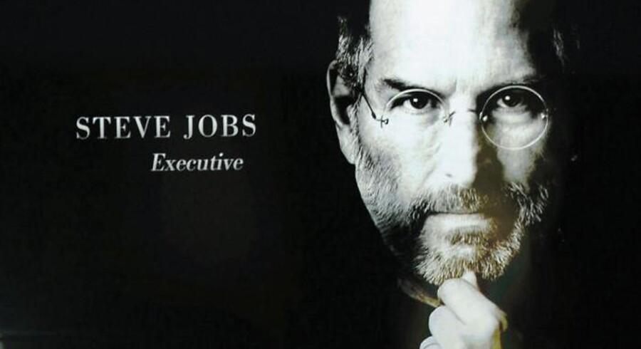 Den afdøde Apple-chef Steve Jobs fremstår som et ikon for iværksættere.