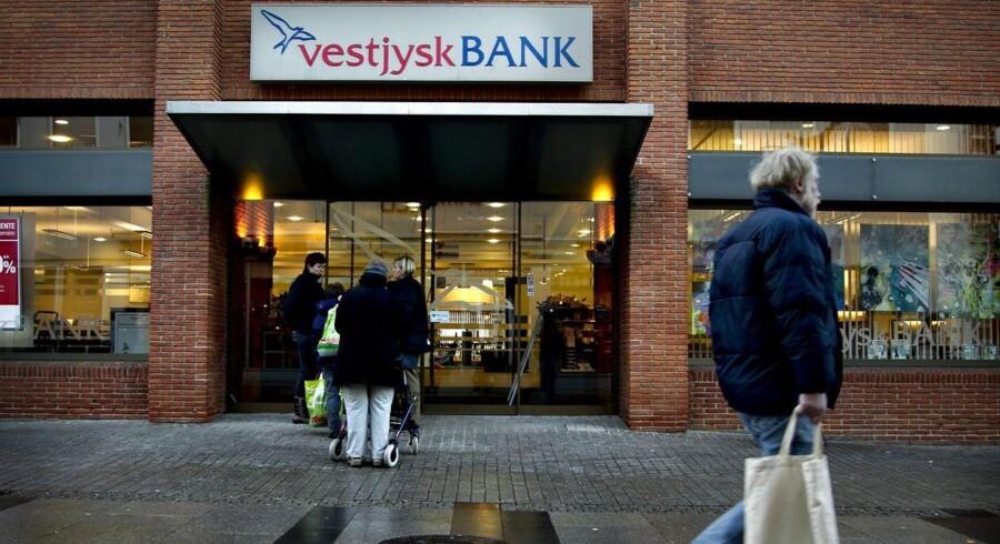Krise i Vestjysk Bank.