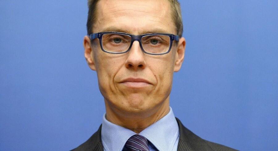 Finlands statsminister Alexander Stubb afviser alle græske ønsker om nedskrivning af gæld og nye forhandlinger om lån.