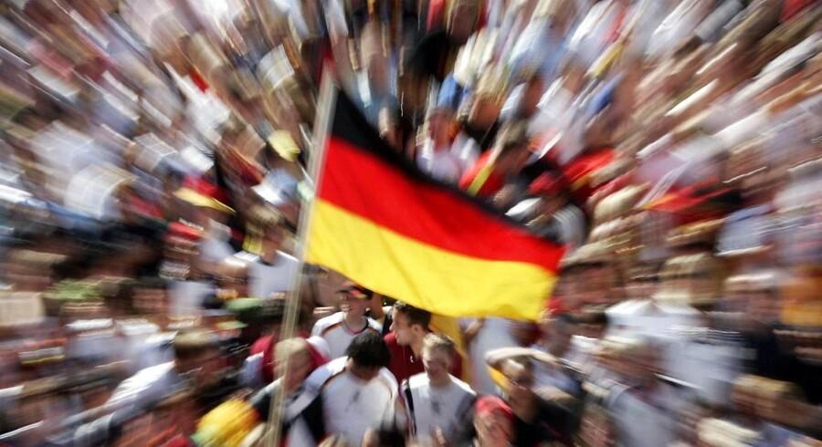 Det tyske erhvervstillidsindeks Ifo udviklede sig bedre end ventet i februar, da det steg til 111,3 fra 110,6 måneden før. Det gode tegn, lyder det fra danske økonomer.