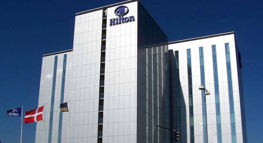 Hilton Hotel i København ved Kastrup Lufthavn.